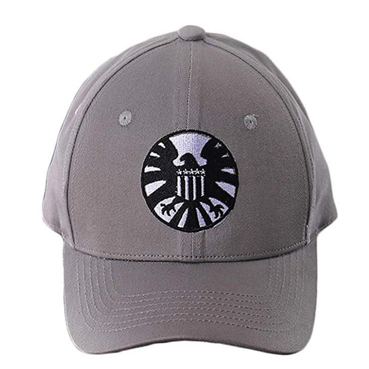 685ae6a14 Avengers Captain Marvel Carol Danvers Cosplay Shield Logo Hats Baseball Cap
