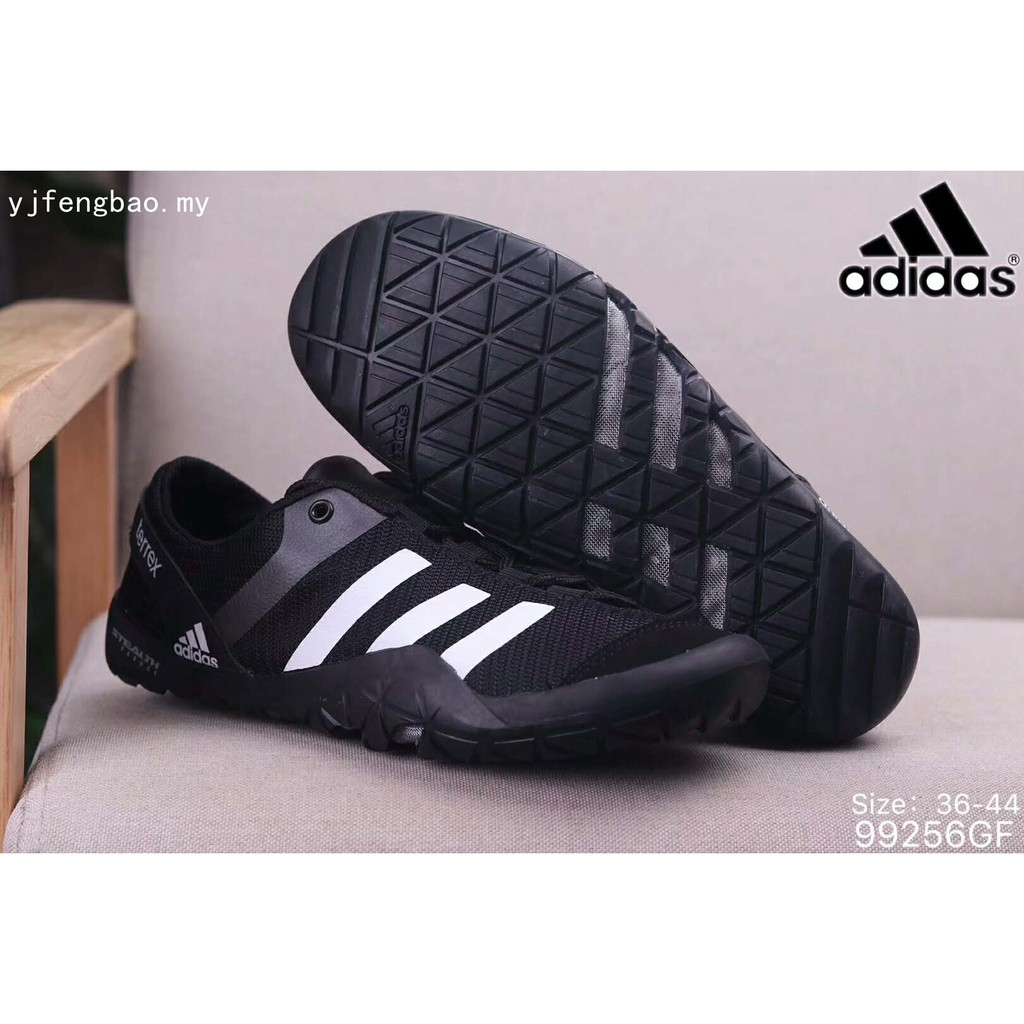 buy popular 2d979 9ffea Adidas Upstream shoes Mens Cliamcool TERREX JAWPAW Lace woman Beach Wading  shoes   Shopee Malaysia