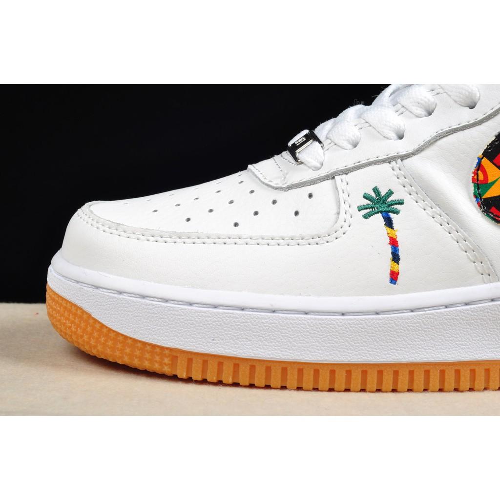 original nike air force 1 af1 all white dumr skateboard shoe for men size 40 45