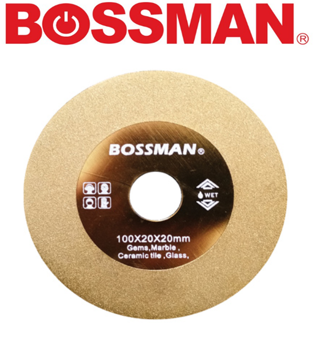BOSSMAN B1001 CONTINUOUS  CUTTING WHEEL DIAMOND GRINDING DISC ACCESSORIES EASY