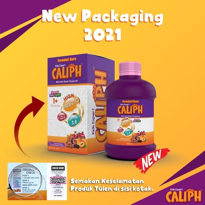 CALIPH Kids New 2021 350ml (Tahun 1+) 100% ORI HQ