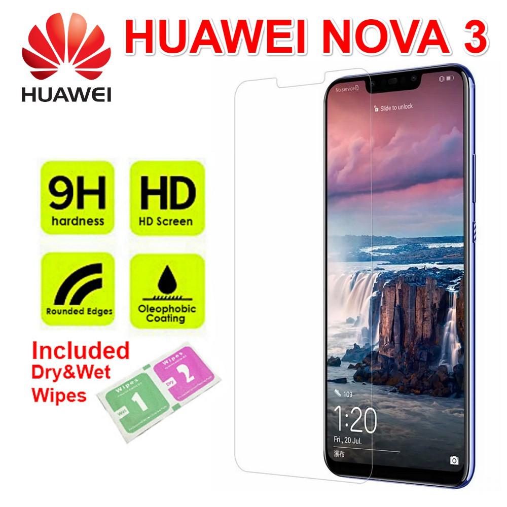 Huawei Nova 3 Tempered Glass 9H 2 5D Screen Protector