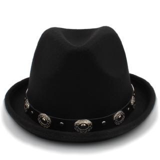 db6e57f162 2018 New Winter Fedora Hat Men Women Wool Felt Jazz Hat Vintage ...