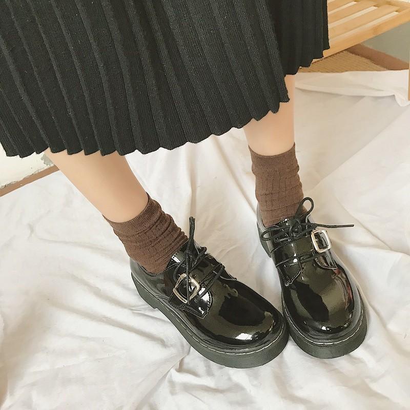 รองเท้าหนังสไตล์นักเรียนญี่ปุ่น[พรีออร์เ