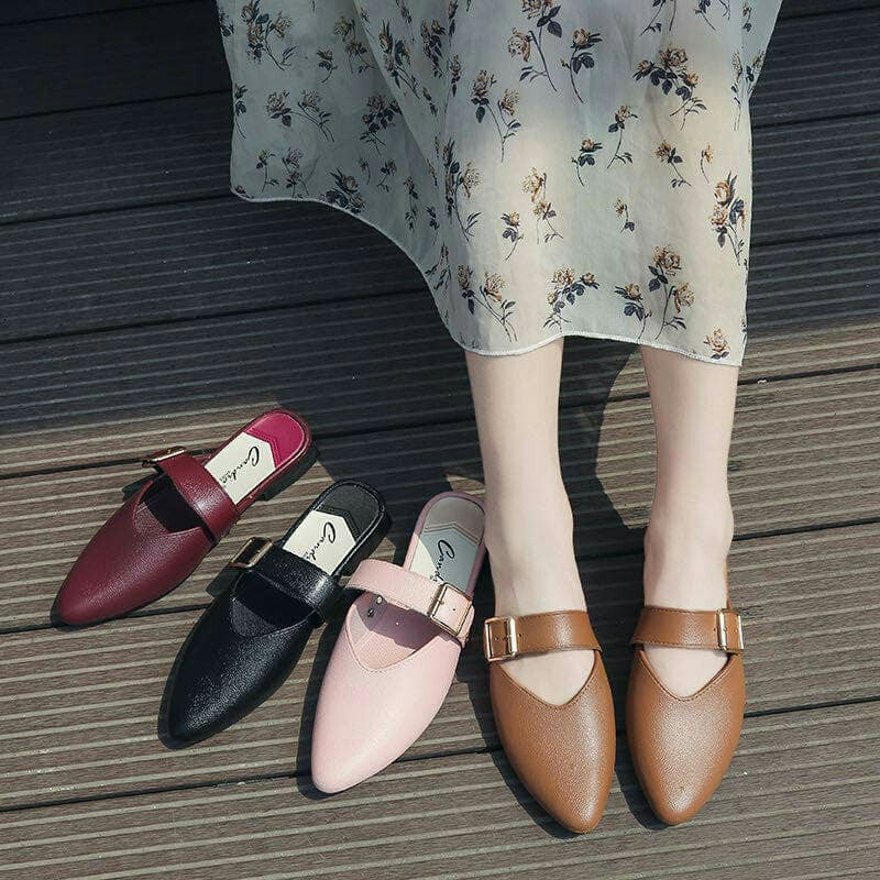 NEW Lady Half Cover Pointed Toe Fashion Shoes / Loafer
