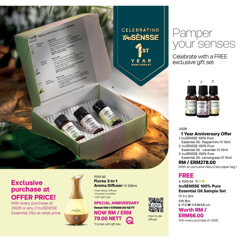 truSENSSE 100% Pure Esssential Oil by Tupperware Brands