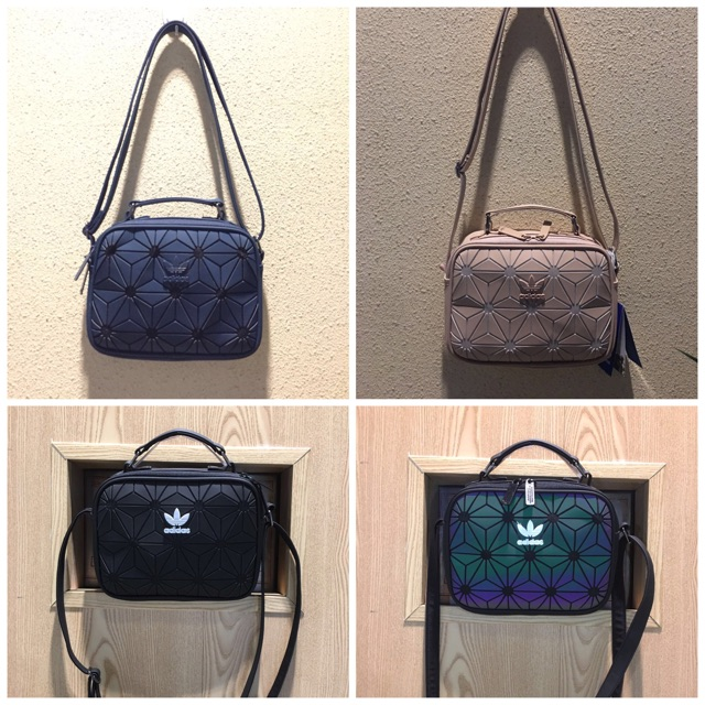 Ready Stock  Adidas 3D x Issey Miyake Mini Airliner Sling Bag ... ed6f974a8a8e1
