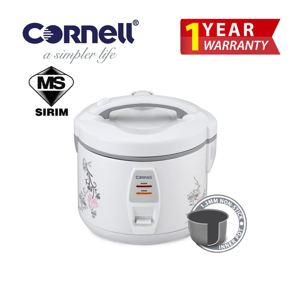 Cornell Jar Rice Cooker 1(.2L) CRC-JE120