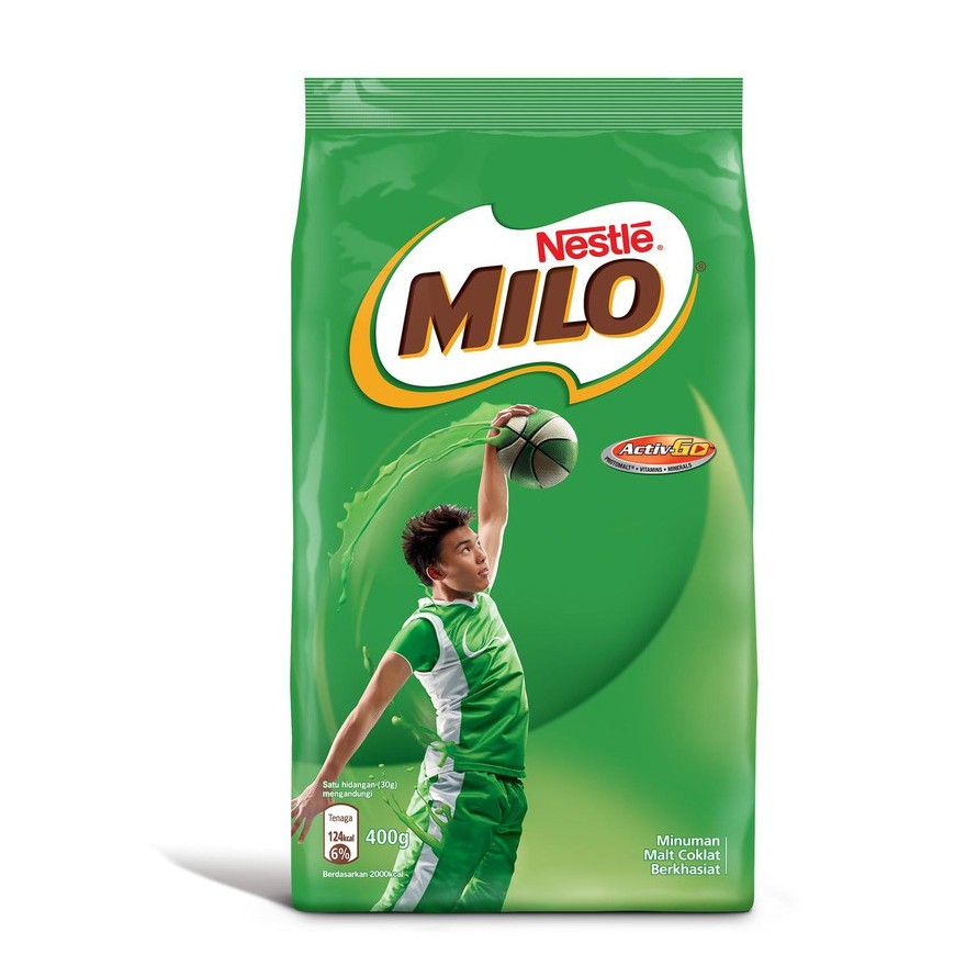 Milo Active Chocolate Malt Drink (400g)