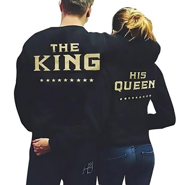 97010ff3cf Fashion The King And His Queen Grey Couple T-Shirt | Shopee Malaysia
