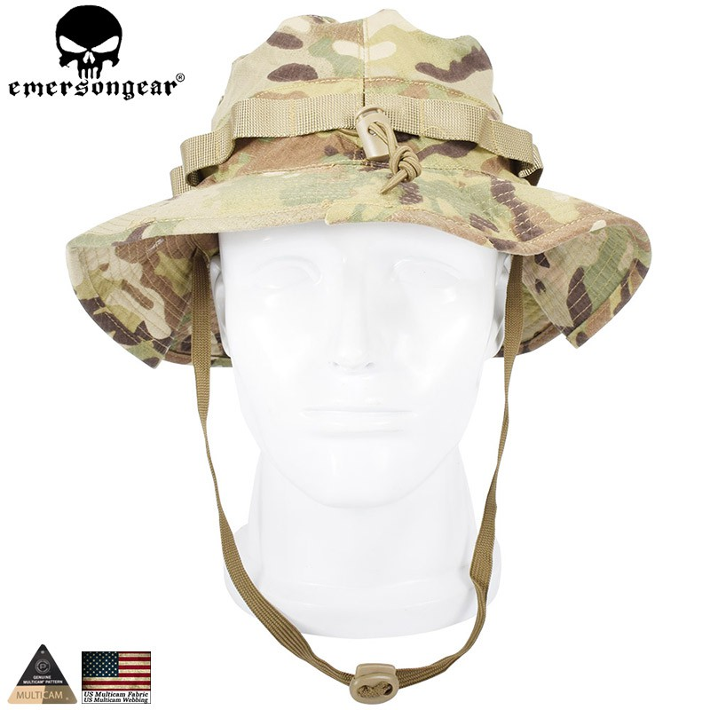 5a7e36a3d1daf EMERSON Boonie Hat Military Tactical Army Anti-scrape Grid Fabric  camouflage