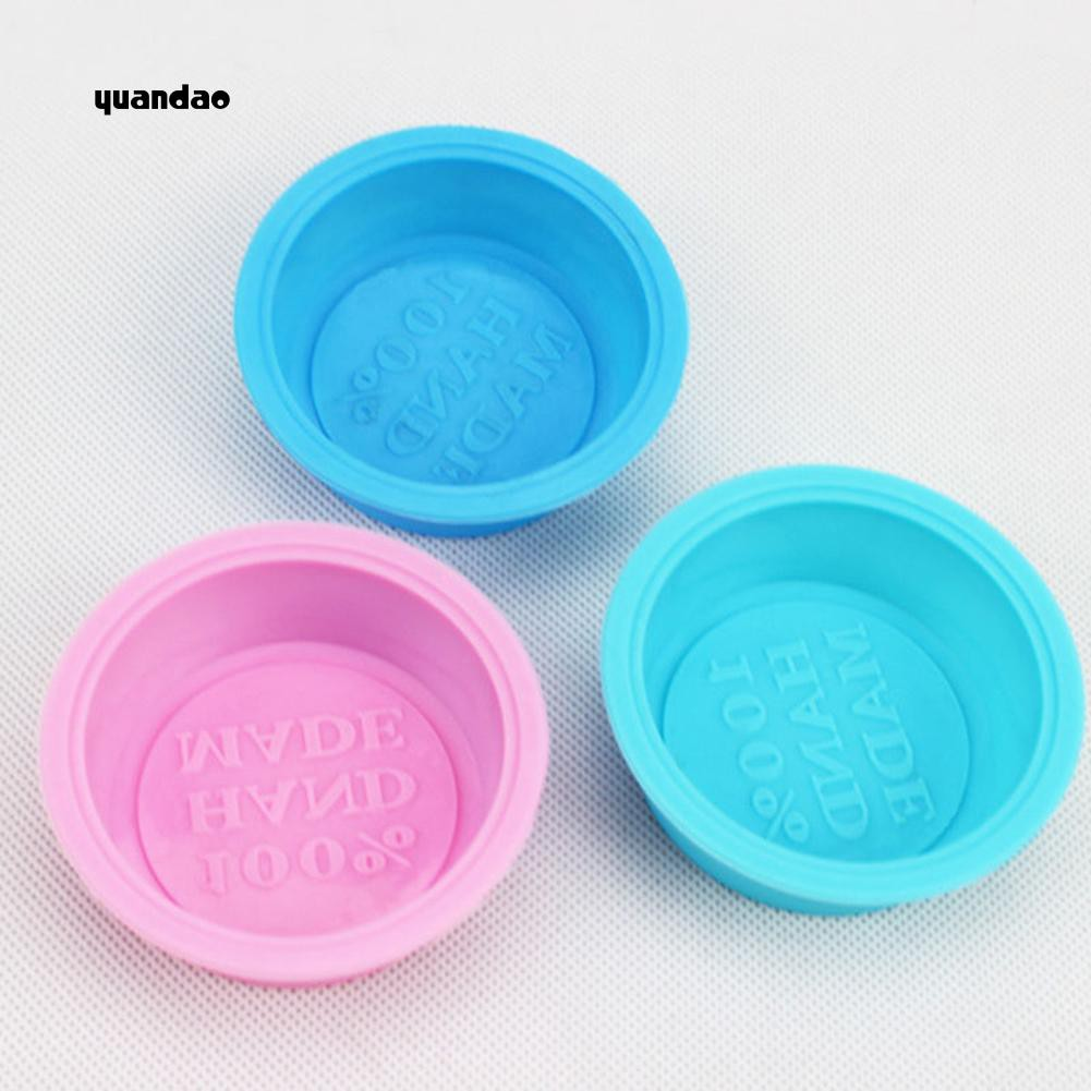 Silicone Round Cake Mold Soap Mould Fondant Decorating Cookie Baking Tools  DIY