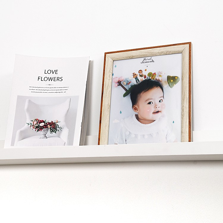 Nordic Simplicity Frame With Free Photo Printing In5R, 6R, 8R, 8x12, 10R, 10x15 &12R Size(NSF03)/Bingkai Gambar/北欧简约风