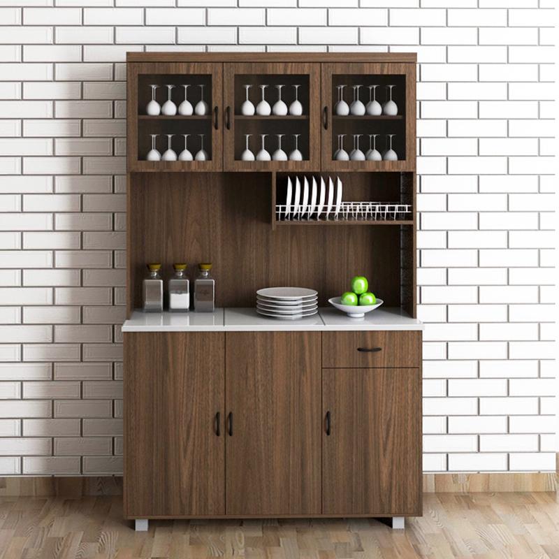 Frey 3 door mosaic top Kitchen Cabinet/ rak kapur kayu