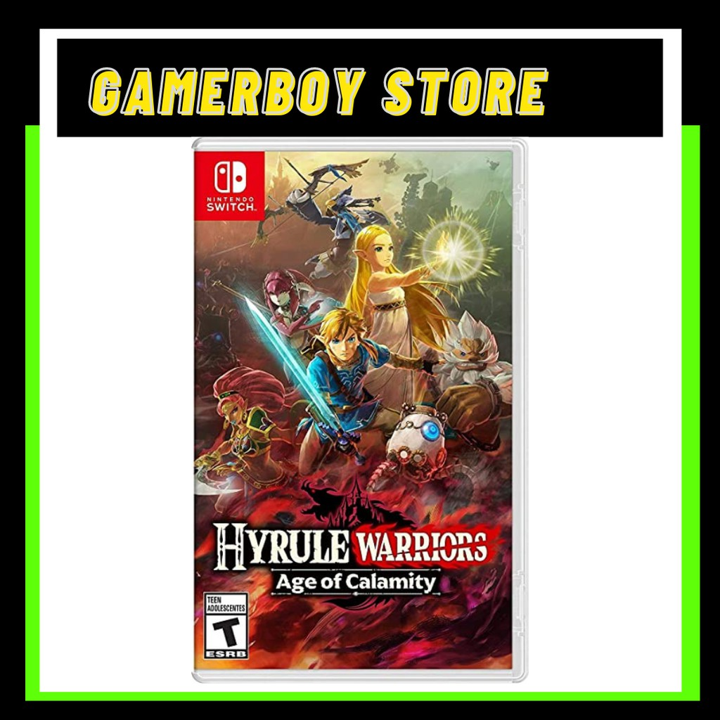 NINTENDO SWITCH HYRULE WARRIORS - AGE OF CALAMITY (PHYSICAL)