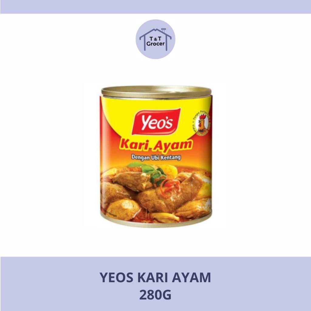Yeo's Canned Food Kari Ayam 280g
