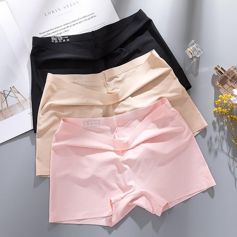 Ladies Women/'s Thin Section Safety Pant Seamless Ice Silk/&Cotton Underwear Short
