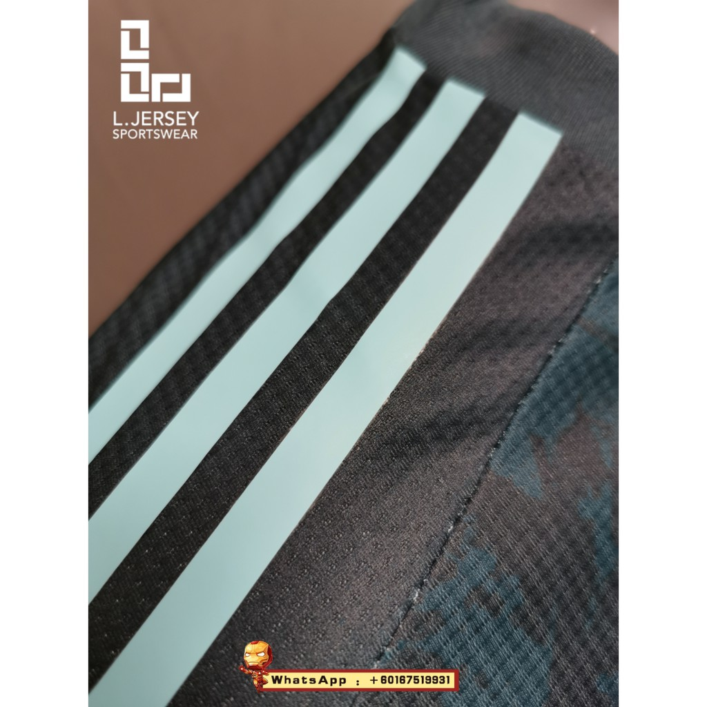 Argentina Men Away Euro Cup Season 20/21 CLIMACHILL Player Jersey