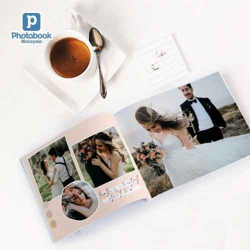 """[FREE Shipping] 8"""" x 6"""" Landscape Softcover Photobook"""