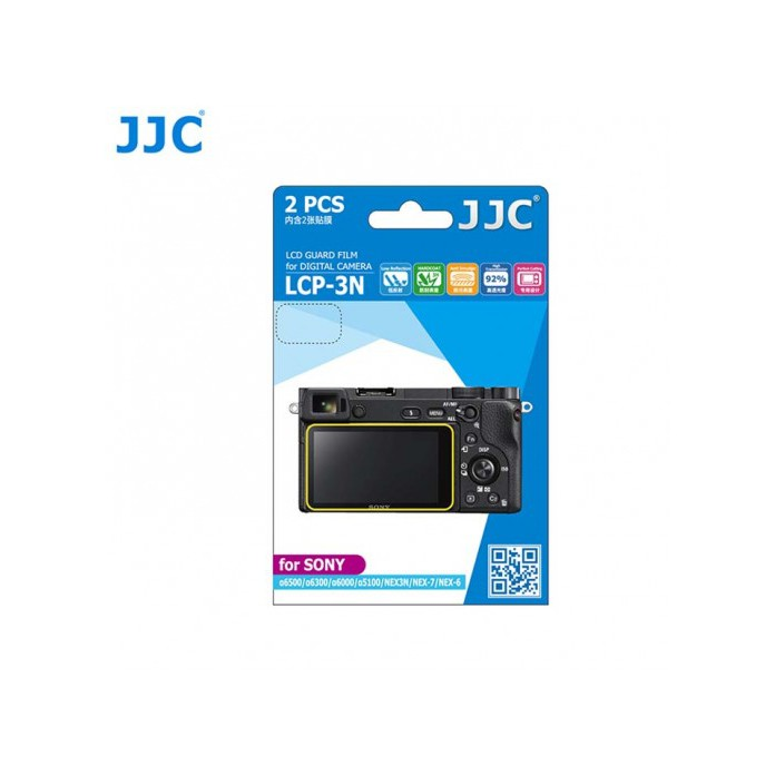 JJC LCP-3N LCD Guard Film Camera Screen Protector for Sony A6300 A6000 A6500