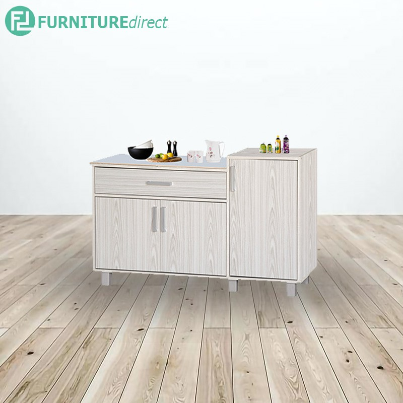 KITCHEN CABINET CW2008/ CW2007 | gas cabinet | kitchen rack | kabinet dapur i MOSAIC TOP