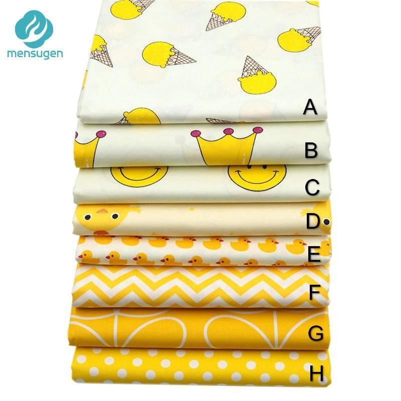 100 Cotton Fabric Kain Diy Cotton Cloth Kain Cotton Cartoon Series Shopee Malaysia