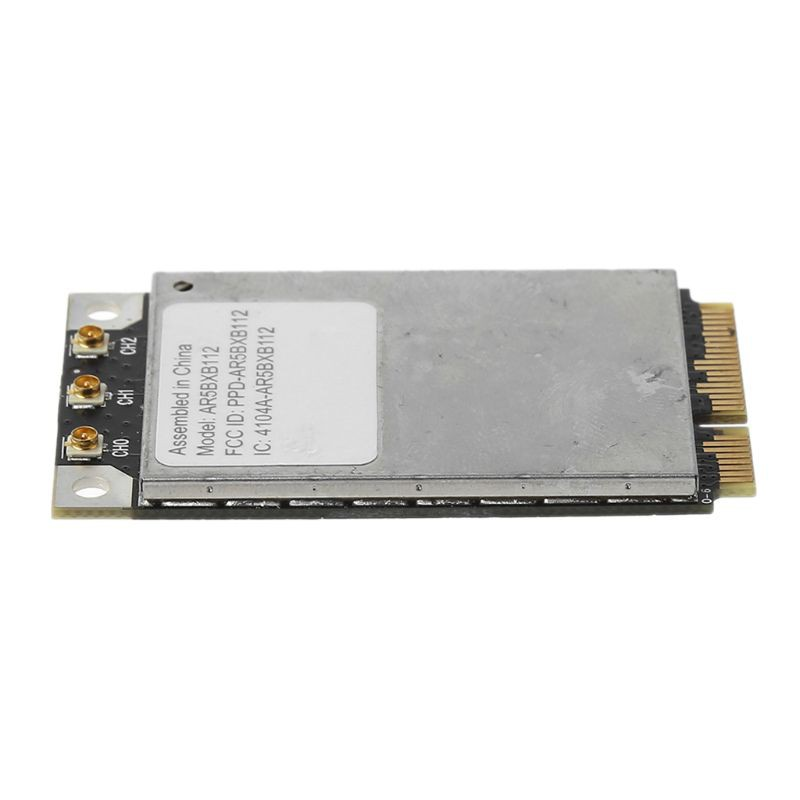 AR5BXB112 AR9380 450Mbps Dual Band Mini PCI-E Wireless Wifi Card Adapter  for Apple Mac Pro 802 11a/b/g/n Wlan S/N C86214