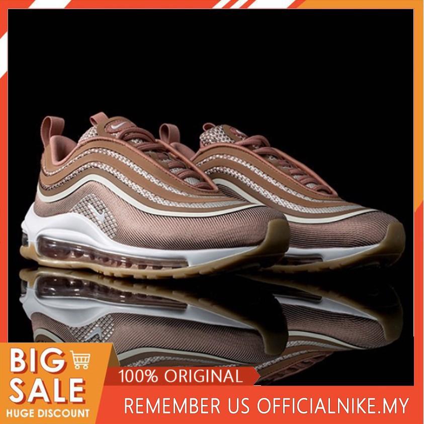 pretty nice c56d4 71834 Nike Air Max 97 3M rose pink retro cushion women's running shoes