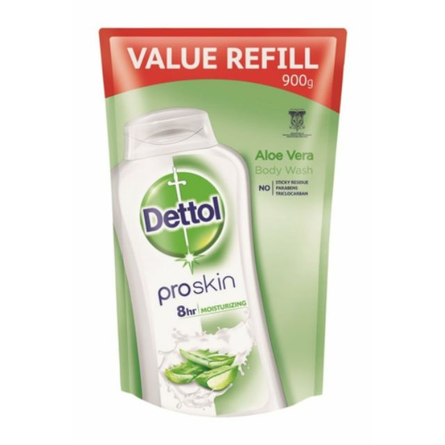 Dettol Shower Aloe Soothe Refill 900ml [New Stock!!!]