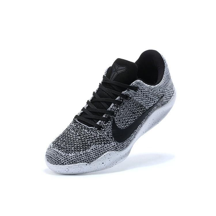 new concept 0f121 9d1f0 LK*2018 Nike Kobe 11 Elite Low Oreo White Black
