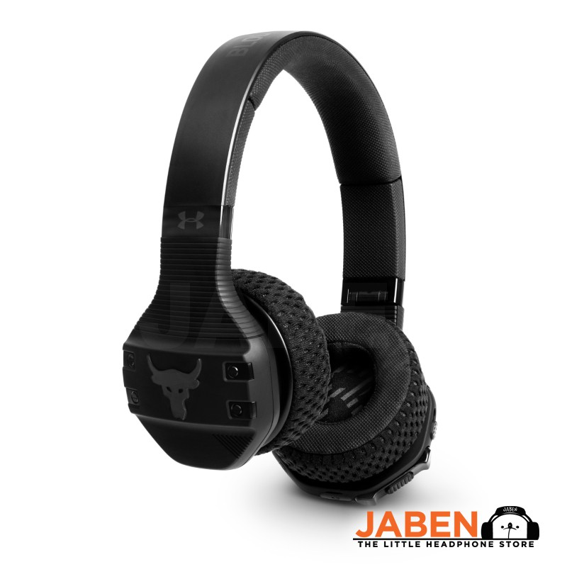 JBL UA Sport Wireless Train Project Rock Bluetooth Washable Earpads On-Ear Headphones[Jaben] Under Armour Dwayne Johnson