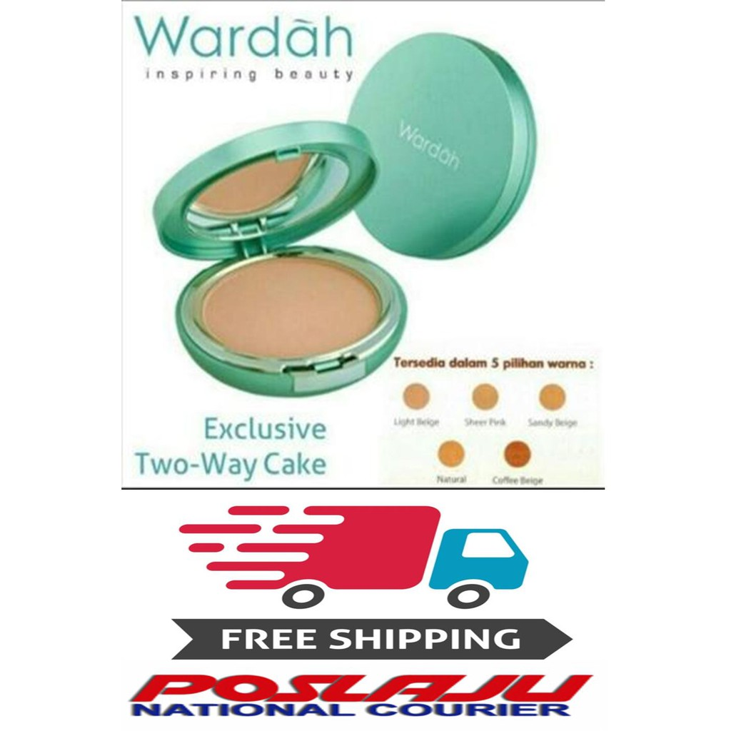 Nurraysa Miracle Two Way Cake Powder Shopee Malaysia Wardah Lightening Light Feel Best Price Ever