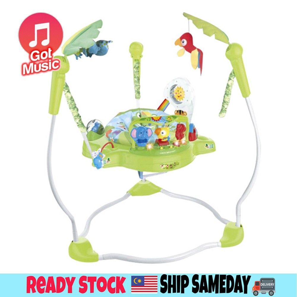 Rainforest Jumperoo Baby Jumper Baby Swing Body-building Rocking Chair