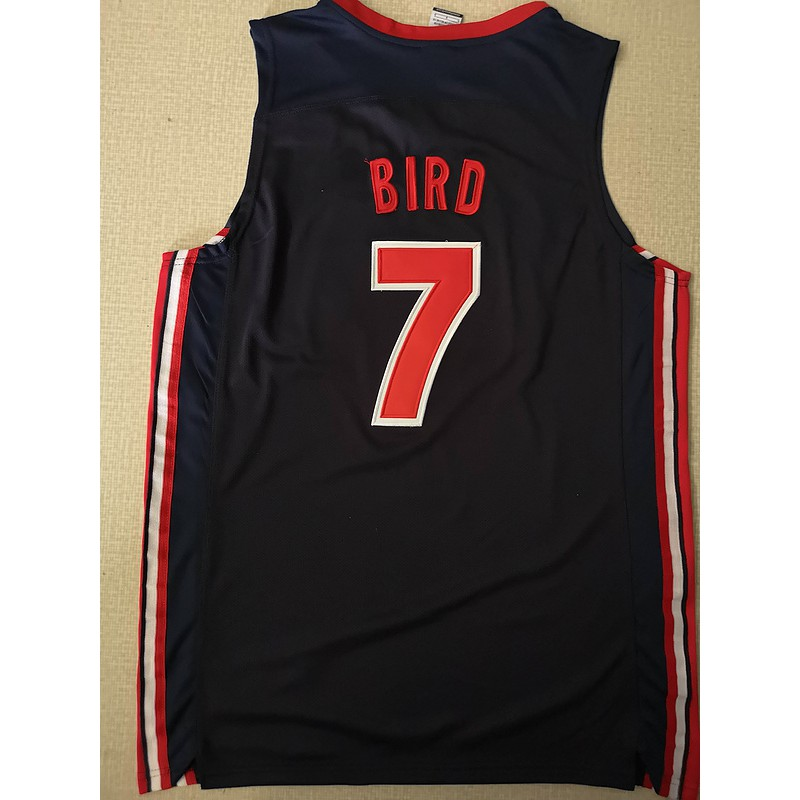 buy online 989d3 932f0 cod Dream team Larry Bird NBA Jersey #7 Uniform