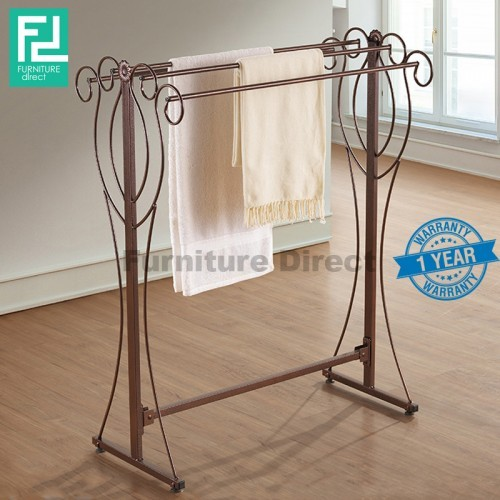 Furniture Direct BENNIS BS1015 wrought iron towel rack