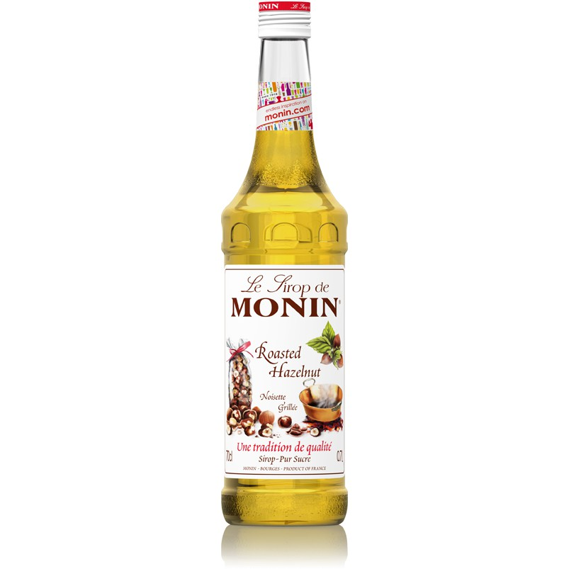 MONIN ROASTED HAZELNUT SYRUP 700ML