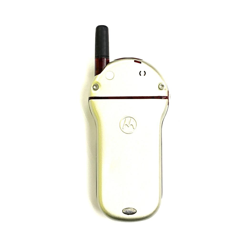 🇲🇾 Original Motorola V70 Silver 360° Rotatable Phone Unique [1 Month Warranty] Refurbished by Retrons