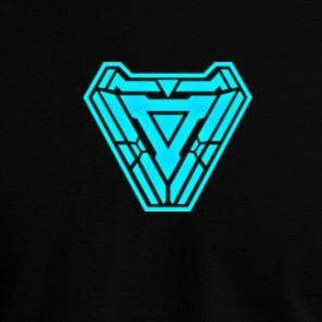 Comics Series Super Hero Ironman Infinity War Glow In Dark Round Neck T Shirt