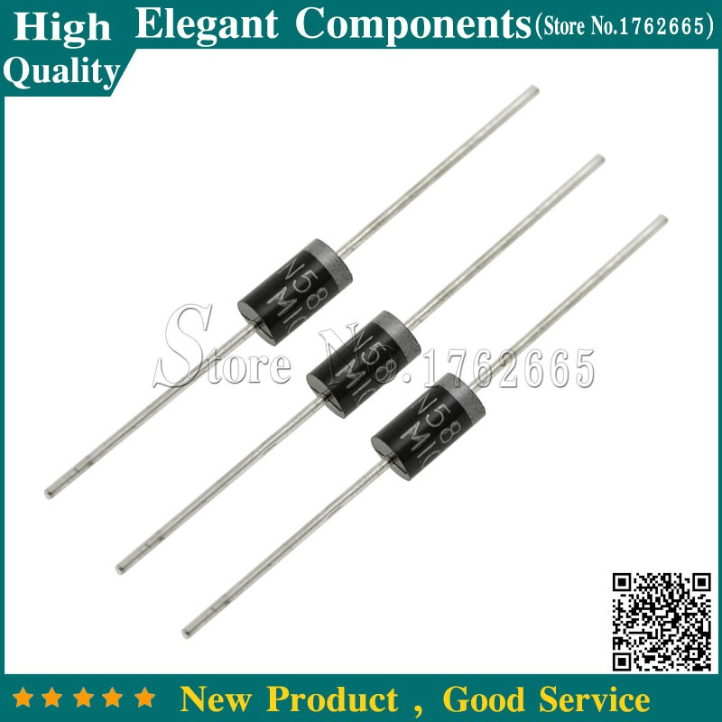 10 x 1N5822 3A 40V Schottky Silicon Rectifier Diode