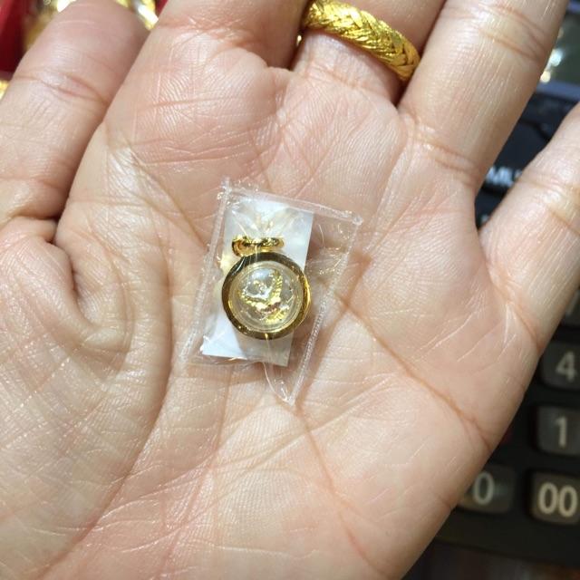 จี้พญาครุฑกรอบหุ้มทองแท้100%มีเก็บเงินปล