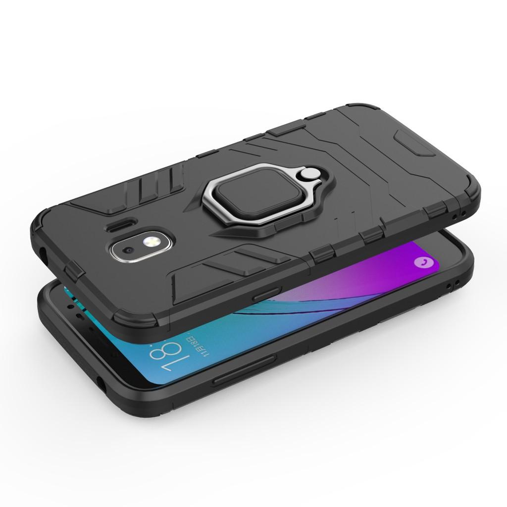Samsung Galaxy J2 Pro 2018 / J4 Core / A2 Core Fashion Magnetic Ring Car  Bracket Hard Cover Phone Case