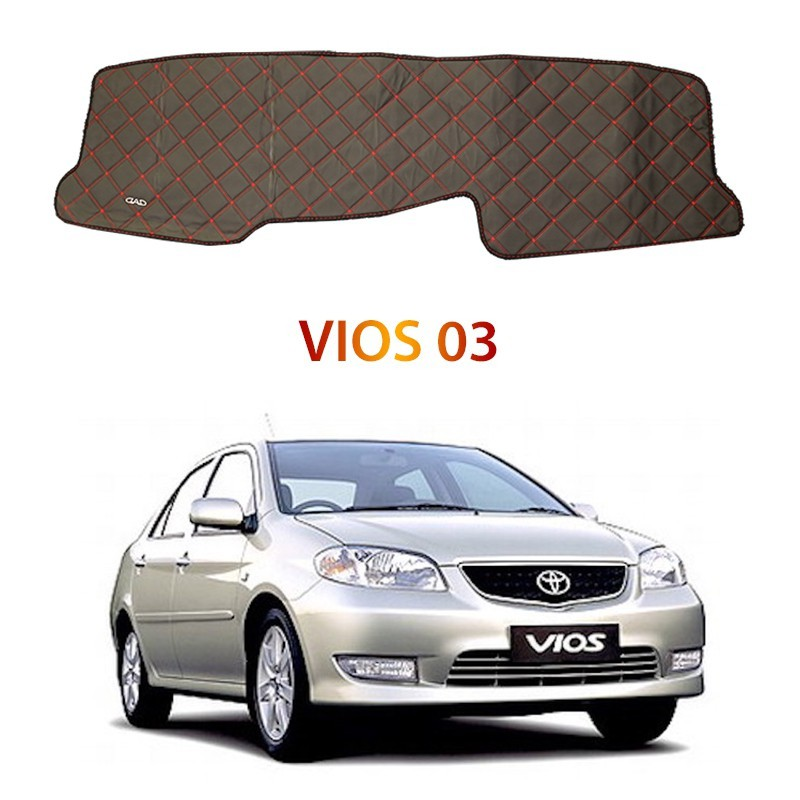 Toyota Vios 03 DAD Non Slip Car Dashboard Cover