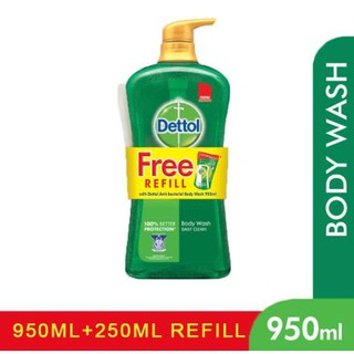 Dettol Gold Shower Gel Classic/Daily (950ml) [Free Refill 250ml]