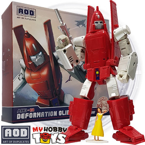 Hot Transformers G1 Toys AOD-01 Powerglide  DX9 MP Scale Richthofen In stock