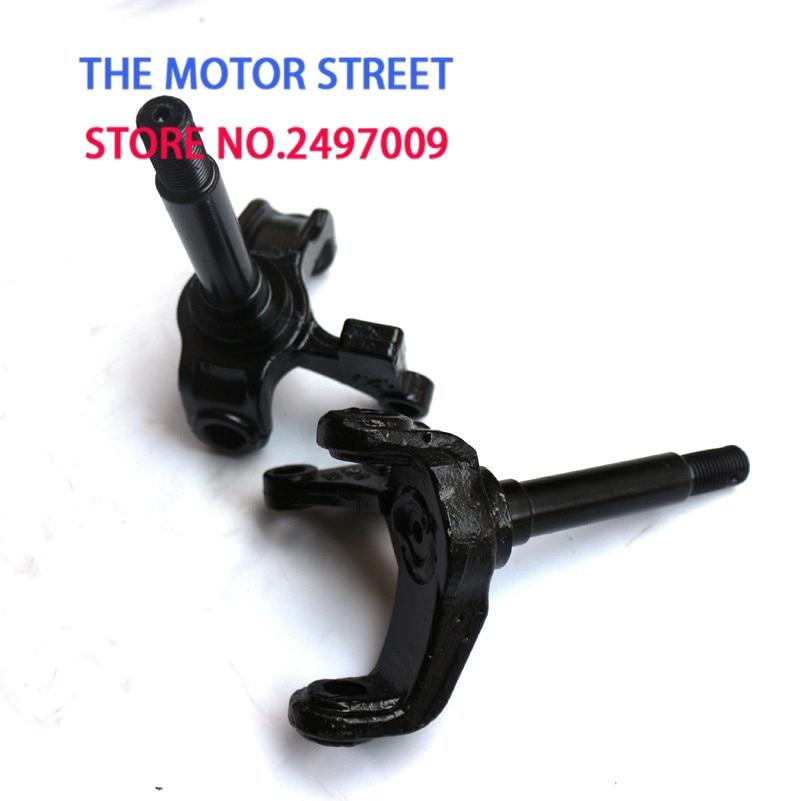 Parts /& Accessories 1Pair//2Pcs Steering Strut Knuckle Spindle Fit for Disc Brake of ATV 49Cc 50Cc 70Cc 90Cc 110Cc Go Kart Buggy Utv Quad Bike Parts