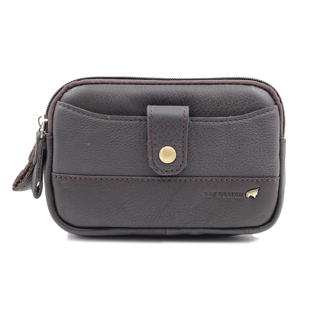 RAV DESIGN Men's Belt Pouch Genuine Leather |RVP465G1