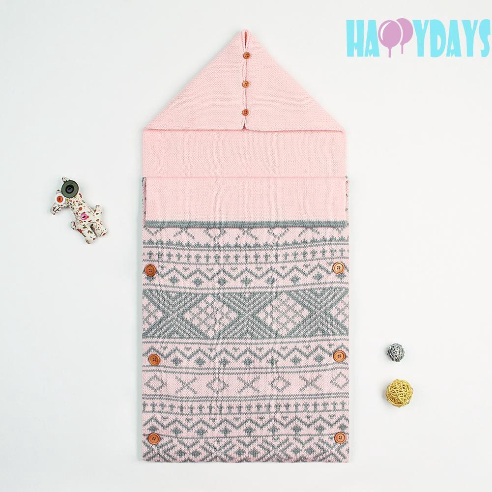 4c40054f9fe79 Winter Warm Ethnic Style Envelope Newborn Baby Sleeping Bag Knitted Blanket  Cute