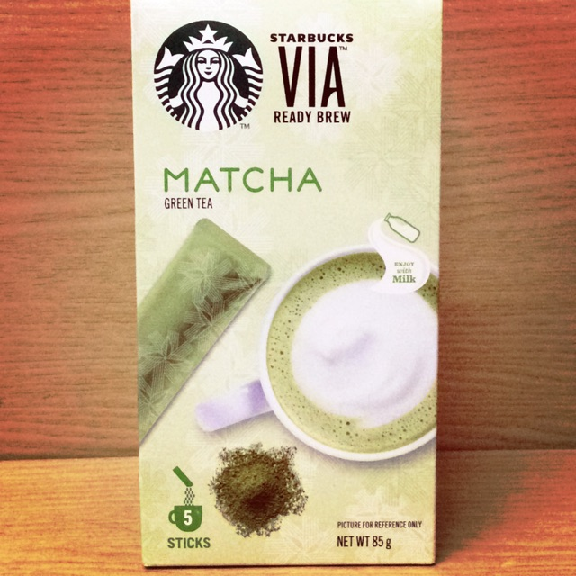 LIMITED TIME OFFER!! Via Starbucks Matcha Green Tea Latte