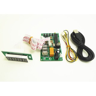 Model JY-02 Juyao 2 players 2 IN 1 Arcade to USB controller 2 player for  PC/ P 3