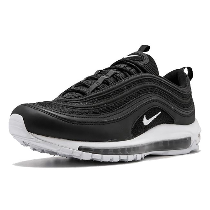 Original Official Nike Air Max 97 Men's Breathable Running Shoes Sports Sneakers Men's Tennis Classic Breathable